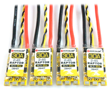 4PCS Flycolor Raptor BLS Pro 20A/30A BLHeli-S ESC Speed Controller Dshot Supported for FPV RC Quadcopter Drone F20060-4/F20061-4