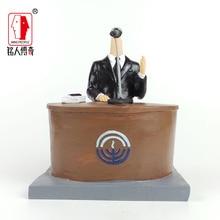 Cake Topper custom avatar birthday gift customized real doll custom clay dolls fixed resin body DR818