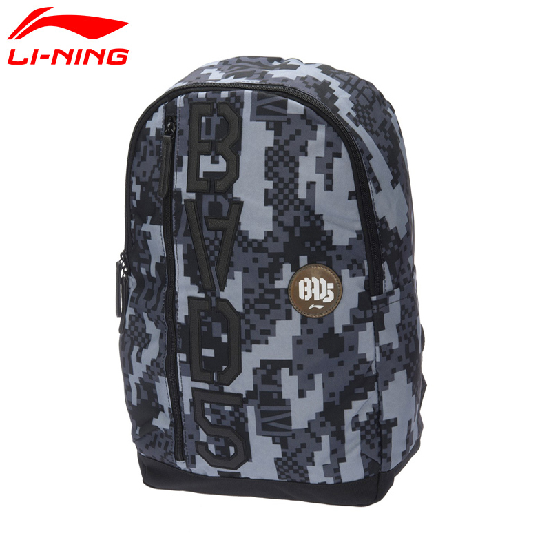 Geniune LiNing Unisex Multifunctional Backpack Badminton Bag For 3Pieces Tennis Bag Trip Computer Basketball Series ABSL131 Z102