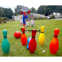 giant inflatable throwing bowling ball games inflatable bowling ball human body zorb blowing Game