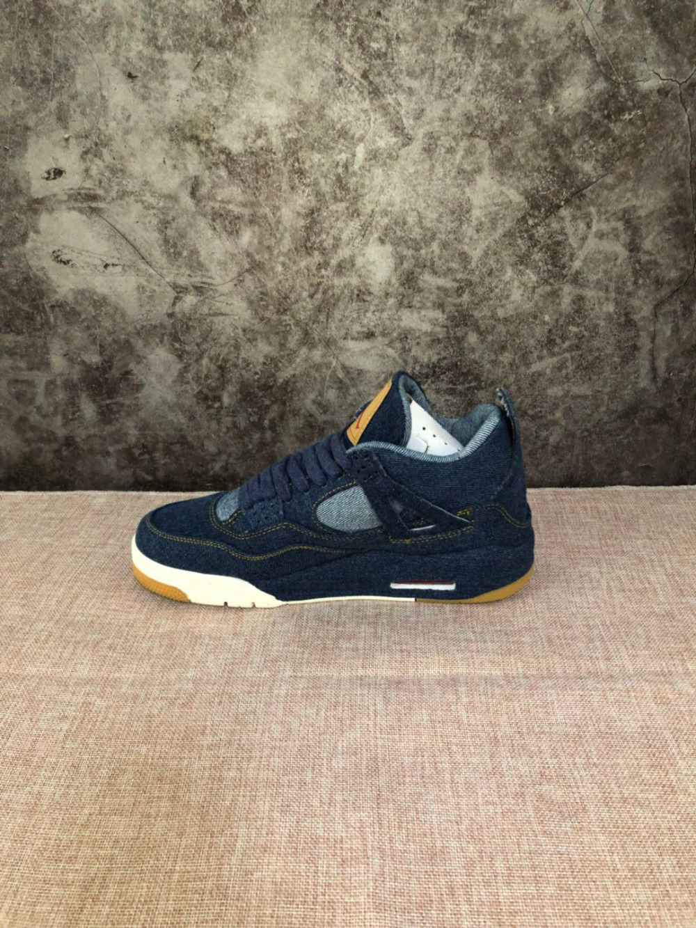 2a466433d8e Jordan Air Retro 4 Men and women Basketball Shoes x LES blue Breathable Men's  Basketball Shoes Sports Sneakers Outdoor 36 46-in Basketball Shoes from  Sports ...