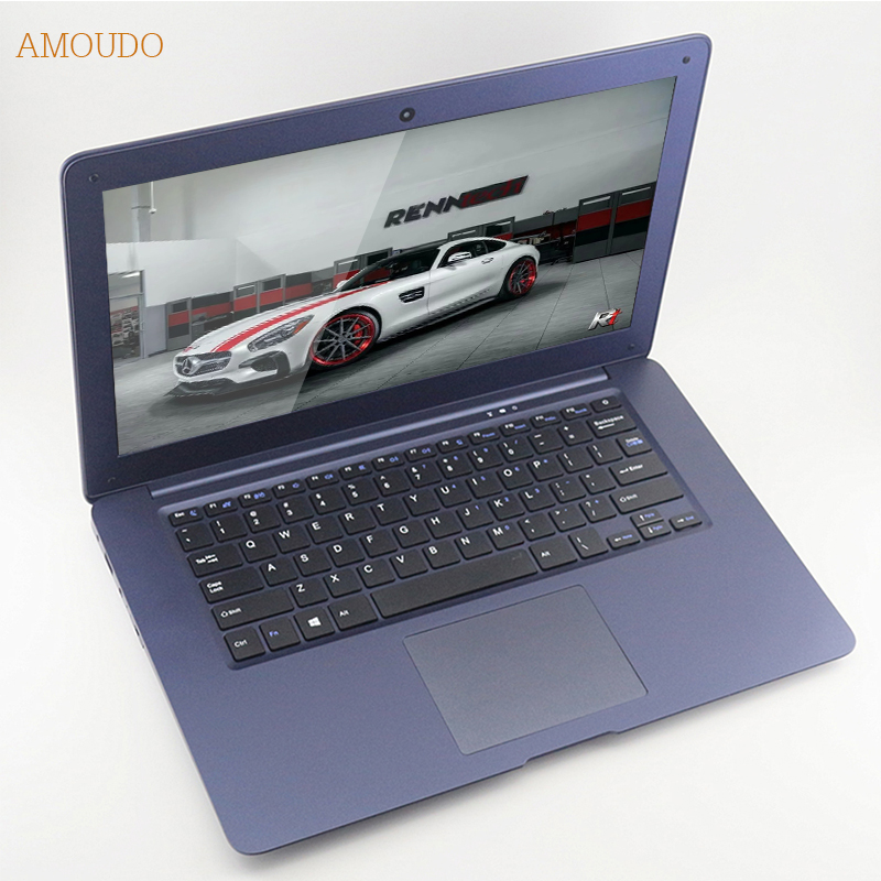 Amoudo 4GB RAM 120GB SSD 750GB HDD 14inch 1920 1080 FHD Windows 7 10 Dual font