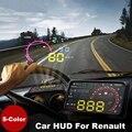 """5.5 """"Head Up Display hud Car Light lámpara de proyección de OBD II Renault Megane Twingo Clio Laguna Espace"""
