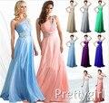 0002 бусины кристалл элегантный длинная розовый белый королевский синий фиолетовый шифон ну вечеринку официальный вечернее платье пром платье