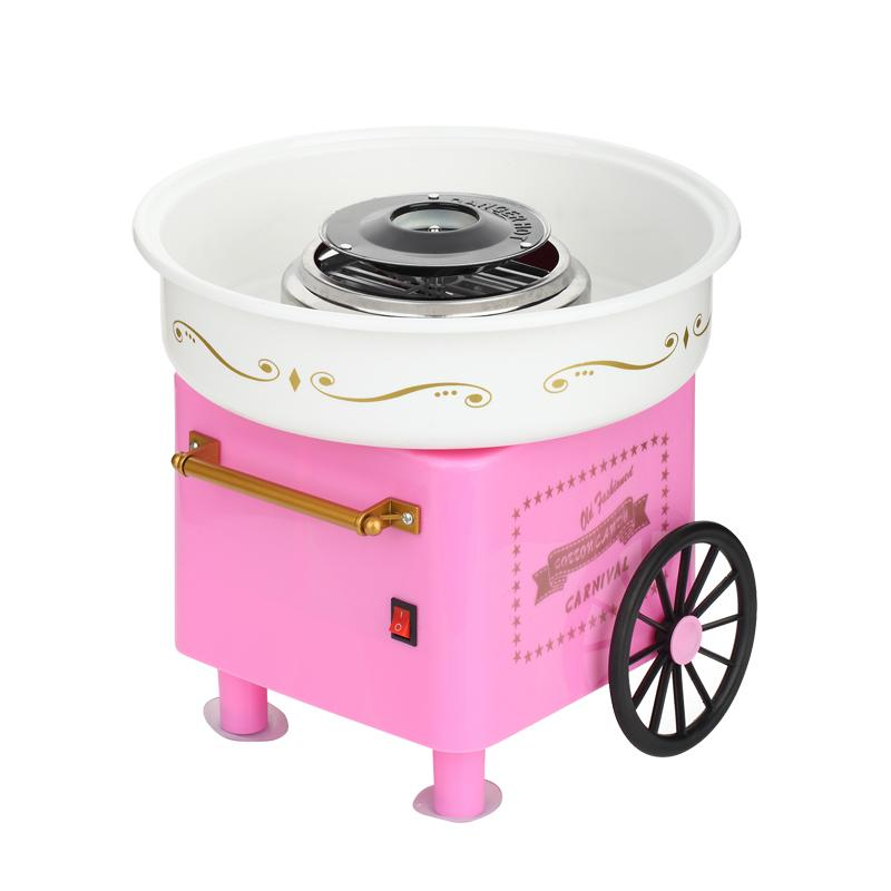 Household automatic cotton candy maker electric colorful hard candy fancy DIY mini commercial cotoon candy machine fancy pants candy corn