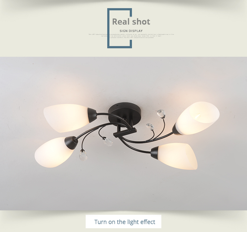 DX Rotate Flowe rLed Chandelier (2)