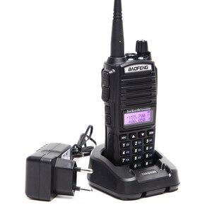 Image 2 - BaoFeng UV 82 5 واط اسلكية تخاطب المزدوج الفرقة BaoFeng UV82 radi128ch مضيا المزدوج عرض مزدوج ساعة لراديو هام اتجاهين