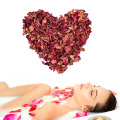 Natural Red Rose Dried Petals Buds 100% Organic Bath Soap Spa From China Yunnan Great Gift