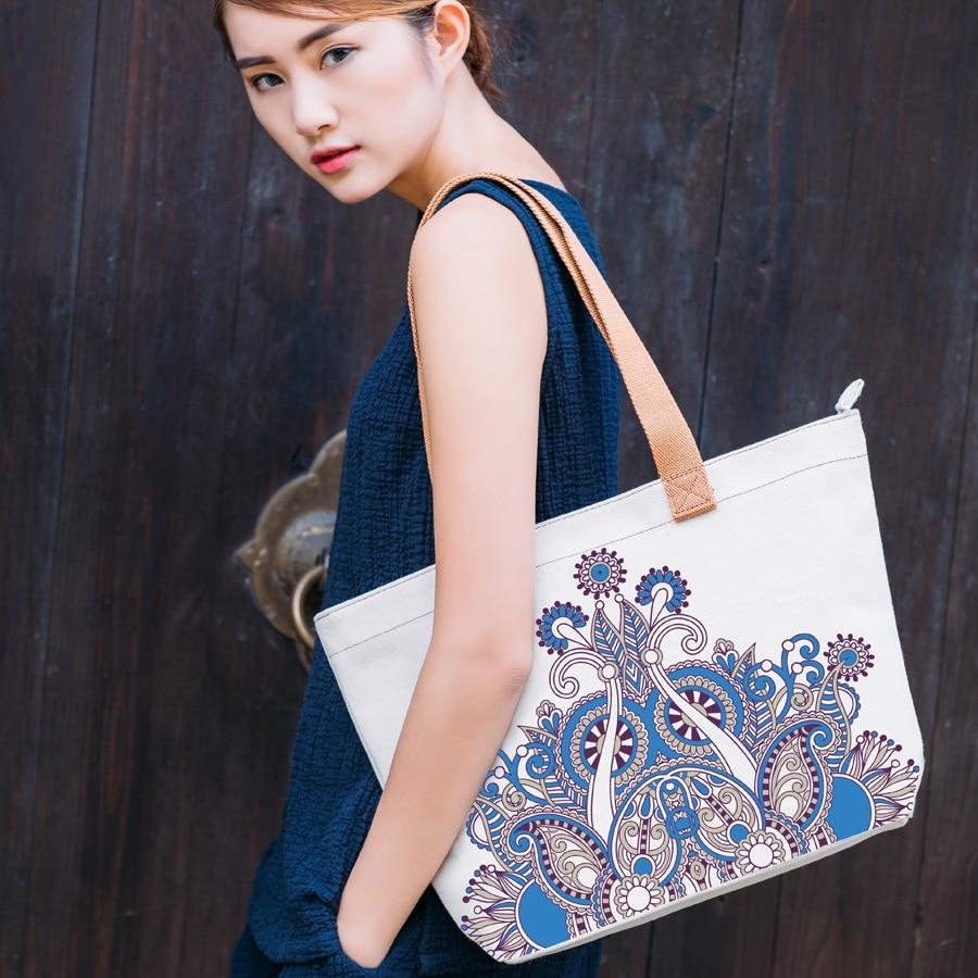 Shopping Bag Canvas Handbags Bolsos Grandes Moda Tote Bags Sac A Main Bolsa Feminina Schoudertas Dames