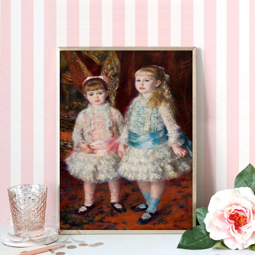 Peint à la main célèbre peintre Auguste Renoir toile peinture Reproduction
