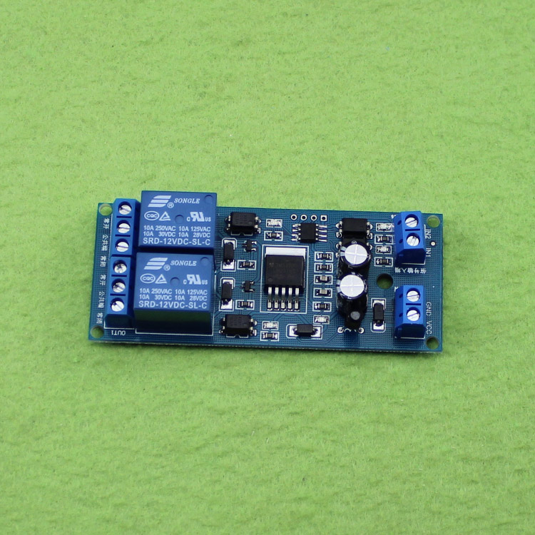12V relay module timing switch motor forward and reverse controller programmable D1A3 12v led display digital programmable timer timing relay switch module self lock board stable performance
