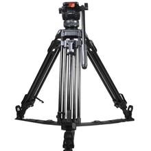 TERIS TRIX 65 V8L Plus Video Camera Tripod kit Fluid Head Lo