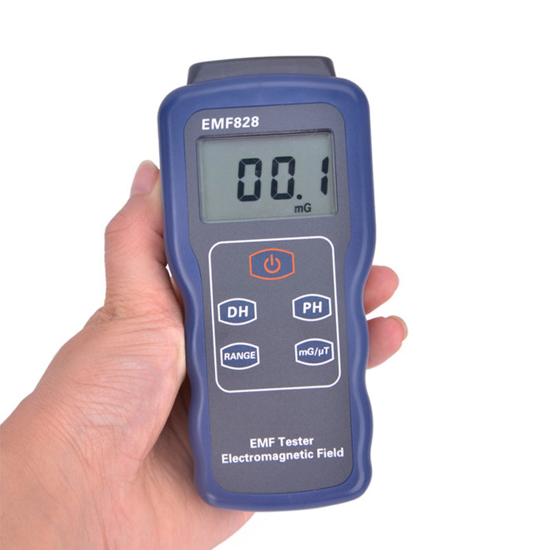 EMF828 EMF Tester Low Frequency Filed Intensity Meter For Particular Objects Or Devices Radiate Electromagnetic Waves