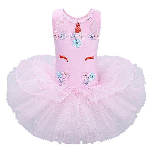 7ac5787a062b BAOHULU Ballet Leotards Unicorn Tutu Dress Baby Girls Flower Unicorn  Christmas Ballet Party Dress Tutu Kids Thanksgiving Cosplay