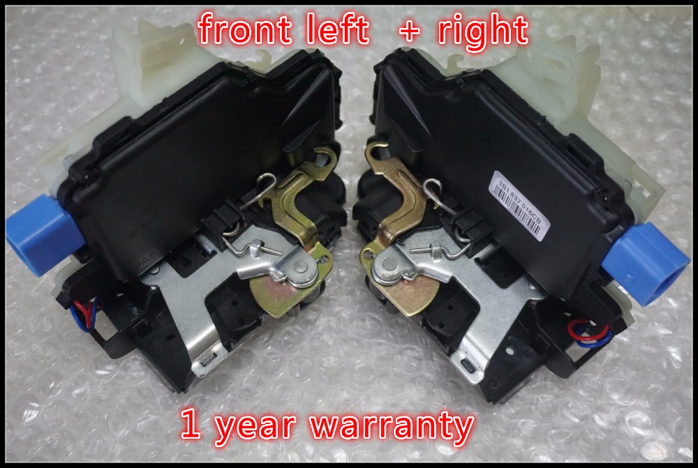 pair FRONT L R Lock Actuator 3B1837015AQ 3B1837015BC 3B1837016BC 3B1837016CC 5J1837016 FOR VW T5 POLO SKODA