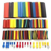328pcs Crimp Terminal Connectors With New Box/Case Heat Shrink Tube Tubing Cable Sleeve Sleeving Kits Assorted Wire Connector