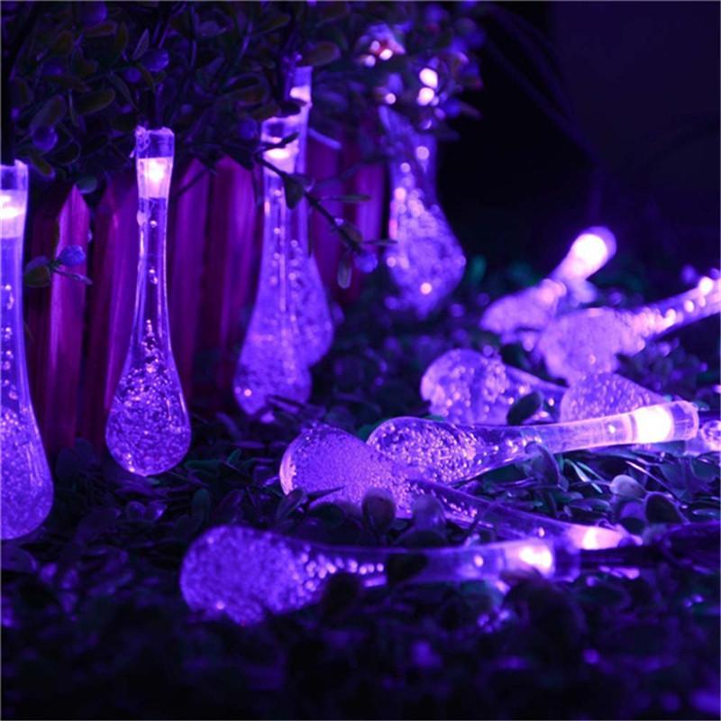 lederTEK  6m 30 LED 8 Modes Solar Christmas Lights (3)