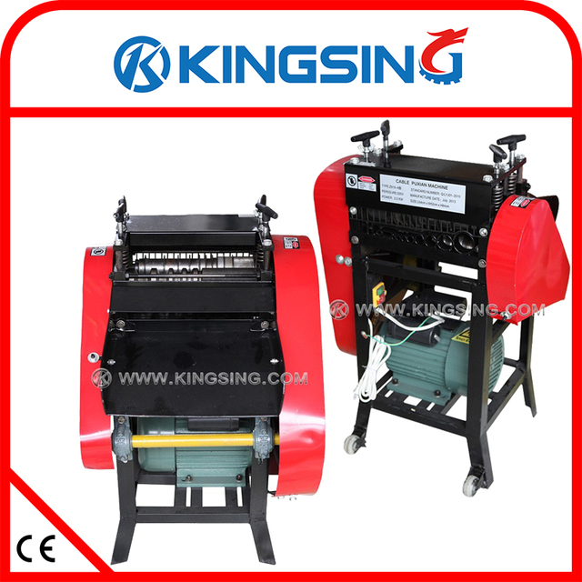 Automatic Scrap Cable Wire Stripping Machine / Wire Stripper KS S305 ...