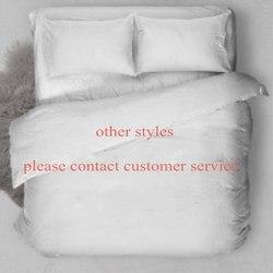 Mouse impresso conjuntos de cama menina gêmeo completa rainha rei tamanho eua cama branco preto crianças presente capa edredão + fronha conjunto outro estilo