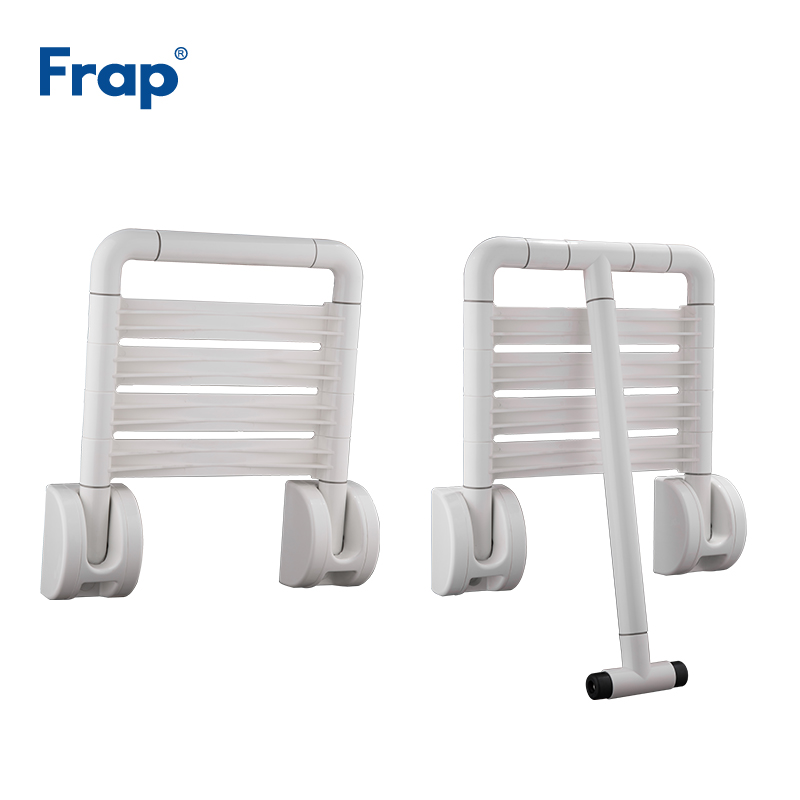 Frap New Shower Chairs For Elderly Shower Seat Wall Mounted Folding Stool Toilet Shower Chair Saving Bathroom F8131/F8132