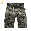 2017 New Fashion High Quality Camouflage Men's Shorts Casual Summer Shorts Size 28-38