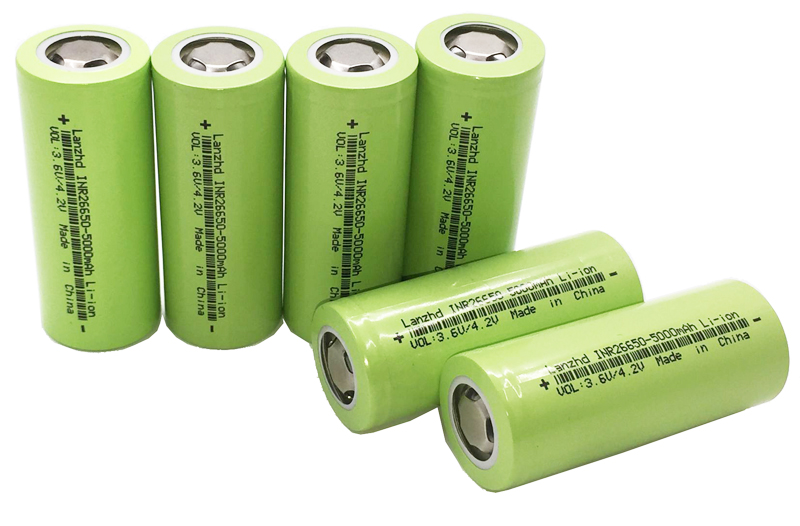 2 20PCS New 26650 battery 50A lithium battery 3 7V 5000mA 26650 50A INR26650 batteries 26650 Suitable for flashlight in Replacement Batteries from Consumer Electronics