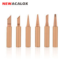 Набор наконечников для паяльника newacalox 6 шт/лот из чистой