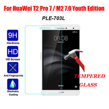 Ultra Thin 9H Tempered Glass for M2 Lite PLE-703L Glass Screen Protector For Huawei MediaPad M2 lite 7.0 Protective Glass Film jonsnow full coverage tempered glass for zte nubia z17 lite 5 5 inch protective film for zte nubia m2 lite screen protector