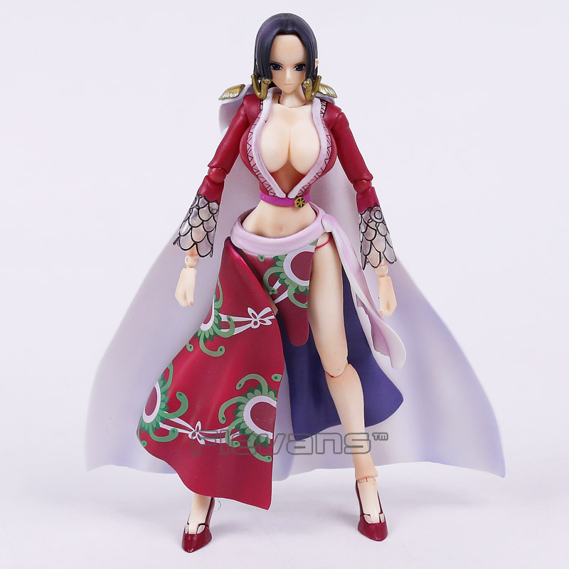 MegaHouse Variable Action Heroes One Piece Boa Hancock Anime PVC Action Figure Collectible Model Toy anime one piece action figure sweetheart boa hankokku model pvc figure classic collection variable action toy doll