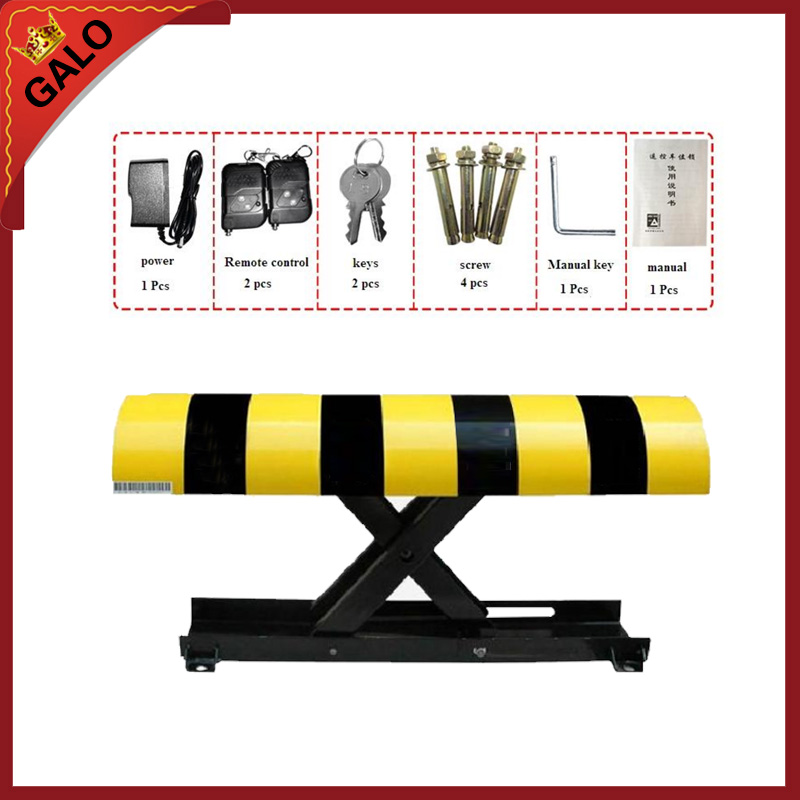 Parking system lock Automatic car parking space barrier lock half ring shape of the block machine parking barrier lock