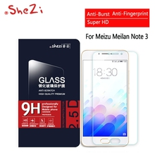 For Meizu Meilan M3 Notice Three Unique Premium Display Protector Anti Burst Display Protecting Movie Tempered Glass Blue Attraction Notice Three