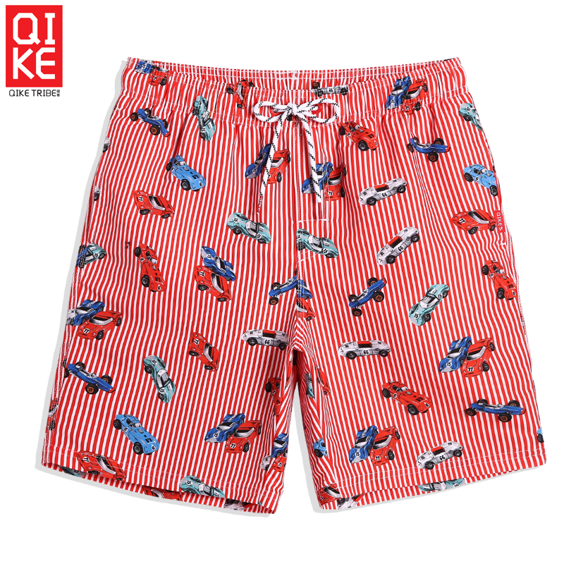 Swimming trunks Men's Summer bathing suit swimsuit quick dry swimsuit hawaiian liner   board     shorts   plus size joggers mesh