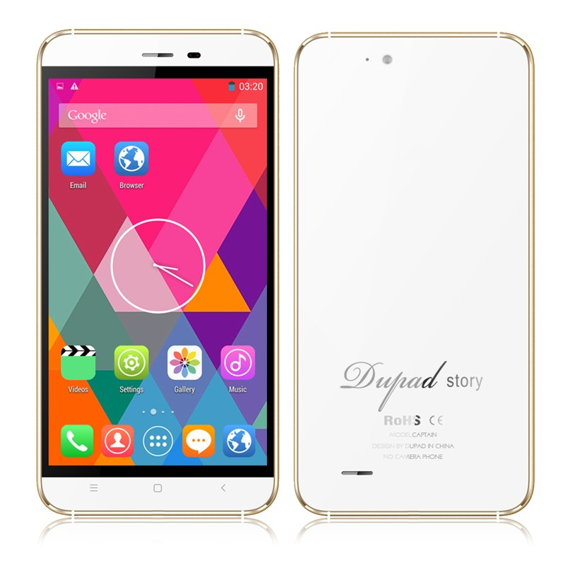 DUPAD STORY Captain No Camera with GPS No GPS 4G MTK6735A Quad core 5 5 Inch