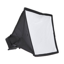 лучшая цена Portable Universal Softbox Foldable Photography Soft Box Kit Diffuser Photography Accessories for Canon Nikon Sony DSLR Camera
