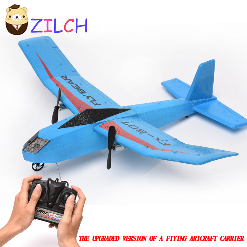 Remote Control Gliding Aircraft EPP Charge Resistance Fixed Wing 2.4G Helicopter Children Model Aircraft Toys 9107 epp foam fixed wing 4 ch radio control r c aircraft orange black