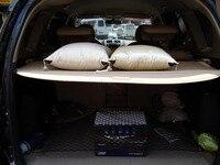 For Toyota RAV4 RAV 4 2006 2012 Bella e pract Tessuto Posteriore del Tronco Security Shield Cargo Nero Cover