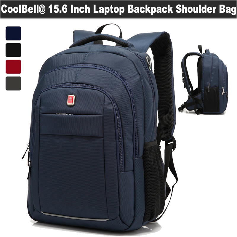 CoolBell 15.6 17.3 Inch Laptop Backpack Water Resistance Computer Daypack Gear Bag For Macbook/Asus/Acer/Dell/Alienware