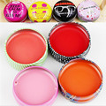 Cute candy color lip balm Round Moisturizing lip gloss Natural Plant lip oil Lipstick Fruit Embellish lip care Y3