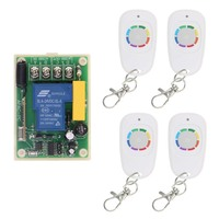 30A 1CH 1 CH Wireless Remote Control Switch 220V Relay Output Radio RF Transmitter And 315