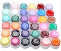 36 Pure Colors UV Gel Nail Polish Acrylic Nail Art Design Gel Polish Manicure Extension
