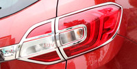 New!! For Ford EVEREST SUV 4DR 2015 2016 2017 4pcs ABS Chrome Plated Taillight Tail Light Trims Glossy