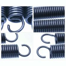 Tension-Spring Hooks Spring-Outer-Dia Small Steel-Length 10pcs 8mm with 20-60mm