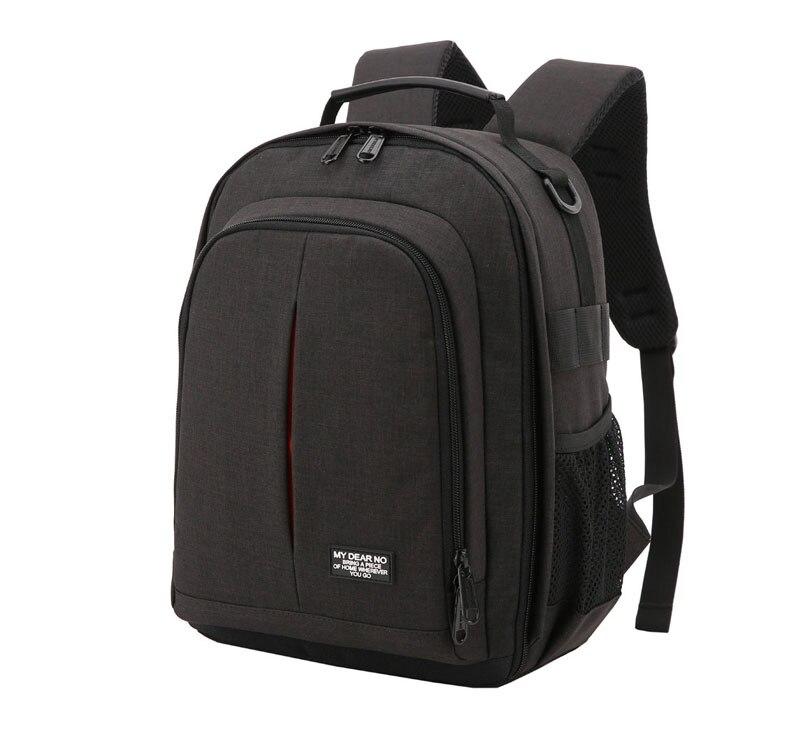 chuva mochila câmera macio acolchoado vídeo ombros tripé caso para digital slr