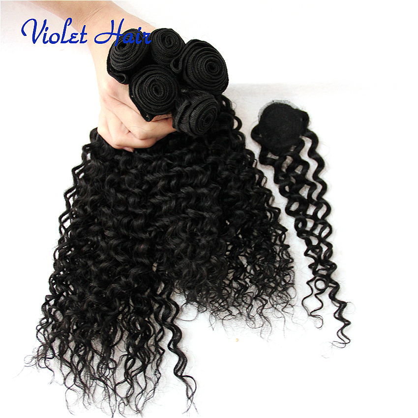 All In One Weave Packs Malaysian Virgin Human Hair Kinky Curly Wave