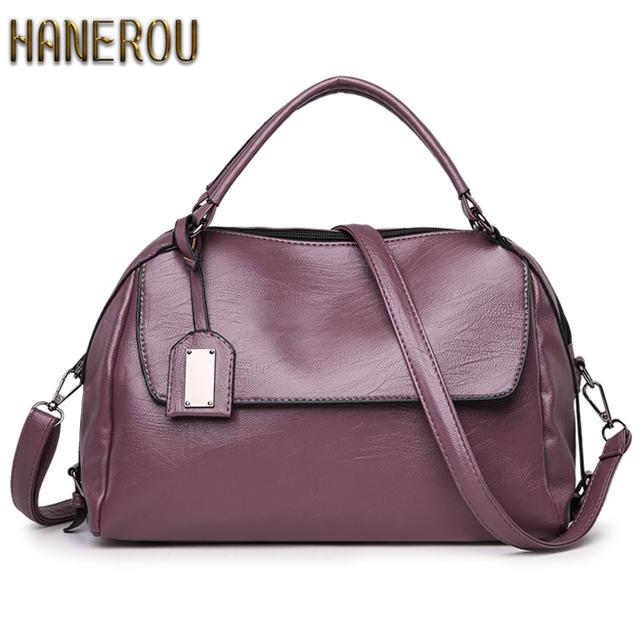 Women PU Leather Handbags Fashion Messenger Bags High Quality Famous Brands Tote Bag