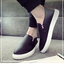 Fashion Leather Shoes Men Casual Shoes Luxury Brand 2019 Mens Loafers Moccasins Breathable Slip on Black Driving Shoes Man Flats fashion leather shoes men casual shoes luxury brand 2019 mens loafers moccasins breathable slip on black driving shoes man flats