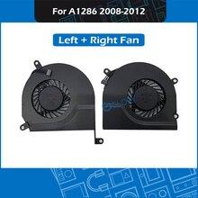 Original Fã A1286 Set Esquerda Direita Para MacBook Pro 15