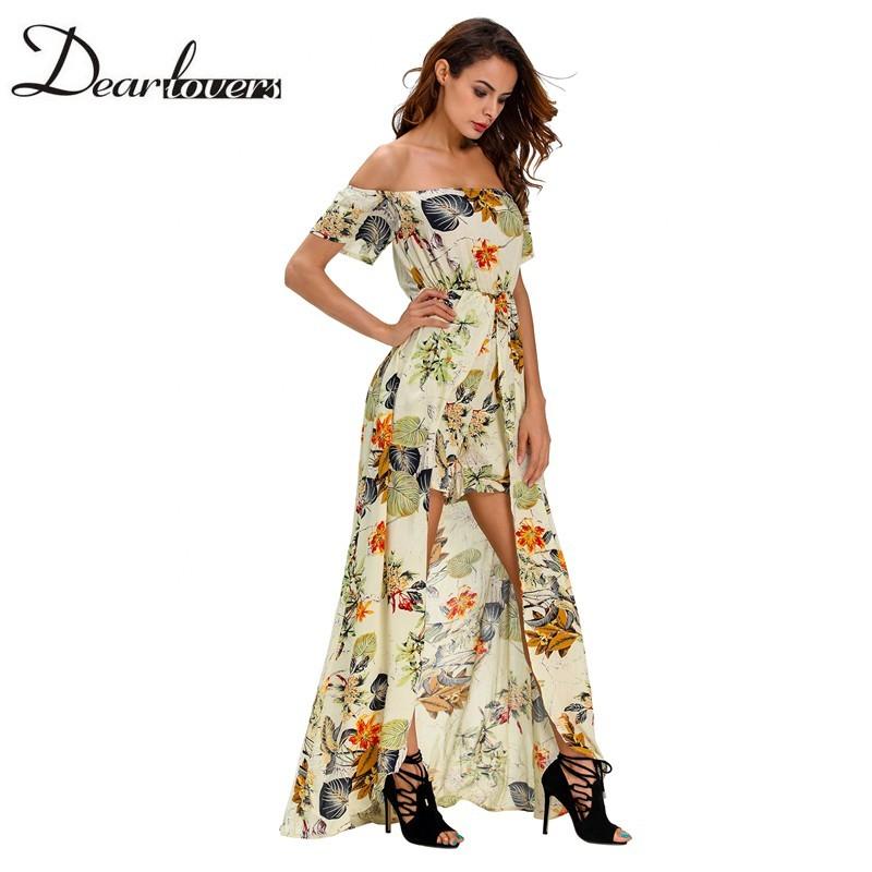 HTB1x5GxNFXXXXbpXpXXq6xXFXXX5 - Maxi Dress Floral Slit Romper Long Dress JKP062