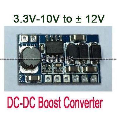 3W DC Boost Converter 3.3V-10V 5v 9v 6v  Step Up To 12V Power Module Replace LM78XX /79X