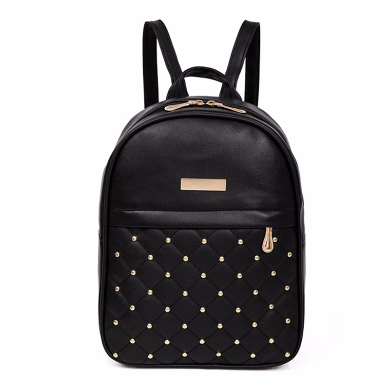 2018 New Girl Backpack Womens Bags PU Casual Totes Backpacks School Student Back Pack Female Sac Rucksack Mochila Escolar Hot